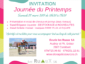 INVITATION - Journée du printemps