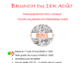 Invitation : Brunch du 1er août 2019