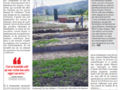 Article : Journal du Jura du 23.05.2020 - Permaculture